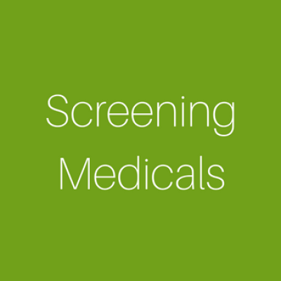 Screening Medicals