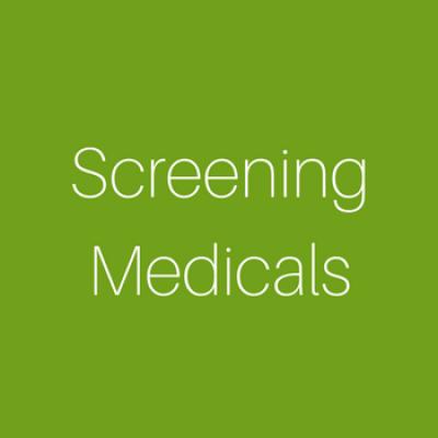 Screening Medicals