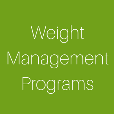 Weight Management Programs